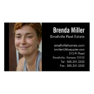 Custom Photo Real Estate Business Color Pack Of Standard Business Cards