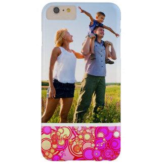 Custom Photo Retro Circles Barely There iPhone 6 Plus Case