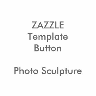 Custom Photo Sculpture Button Badge Blank Template
