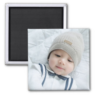 Custom Photo Square Magnet