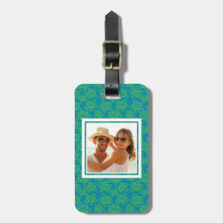 Custom Photo Starfish Crowd Pattern Bag Tag