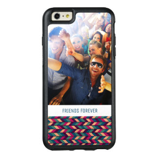Custom Photo & Text Abstract Colorful Industrial OtterBox iPhone 6/6s Plus Case