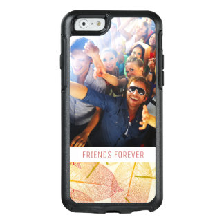 Custom Photo & Text Autumn Leaves OtterBox iPhone 6/6s Case