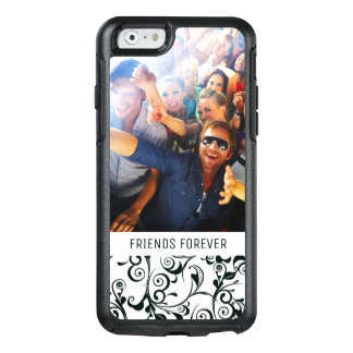 Custom Photo & Text Damask OtterBox iPhone 6/6s Case