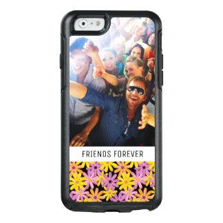 Custom Photo & Text Gerbera flowers pattern OtterBox iPhone 6/6s Case