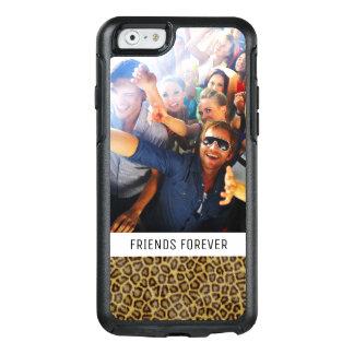 Custom Photo & Text Leopard Fur OtterBox iPhone 6/6s Case