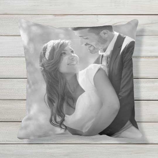 Custom Photo Throw Pillow Cushion