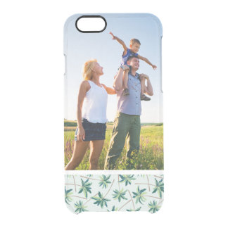 Custom Photo Tropical Australian Foxtail Palm Clear iPhone 6/6S Case