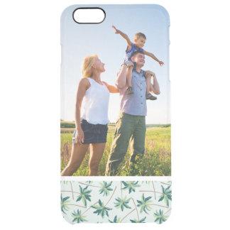 Custom Photo Tropical Australian Foxtail Palm Clear iPhone 6 Plus Case