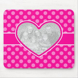 Custom Photo Valentine Keepsake Mouse Pad