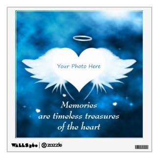 Custom Photo Wall Decal - Angel of the Heart