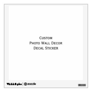 Custom Photo Wall Decor Peel n Stick Decal Sticker