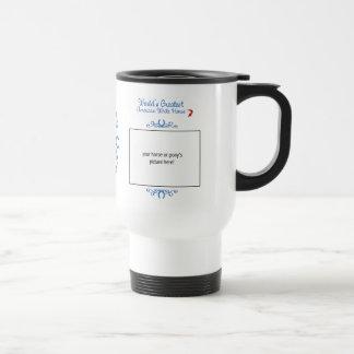 Custom Photo! Worlds Greatest American White Horse Mugs
