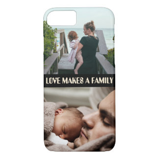 Custom photo x2 and quote Case-Mate iPhone case