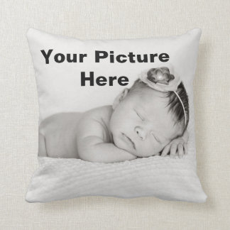 Custom Photo Your Choice Personalized Baby Pillow