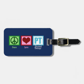 Custom Physical Therapy Luggage Tag