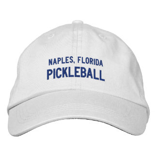 Custom Pickleball Sports Your City, Team Club Name Embroidered Hat