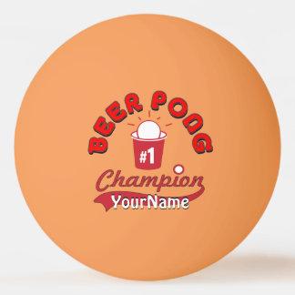 Custom Ping Pong Official League Ball