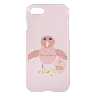Custom Pink Birthday Girl Chick iPhone Case