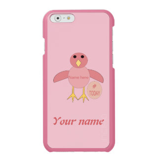 Custom Pink Birthday Girl Chick iPhone Case Incipio Watson™ iPhone 6 Wallet Case