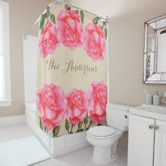 Custom Pink Roses Floral Art