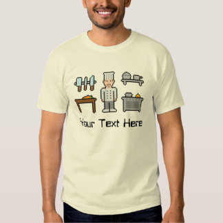 Custom Pixel Chef Tee Shirt