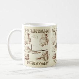 Custom Podiatrist Vintage Coffee Mug
