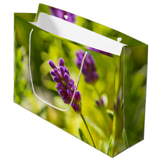 Custom poison Bag - large, shining - Lavendelblüte