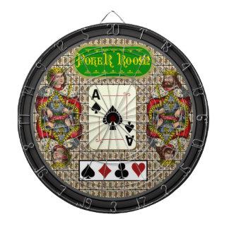 Custom Poker Room Dartboard