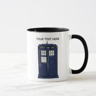 Custom Police Box Mug