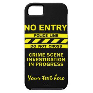 Custom Police Line iPhone Case-Mate
