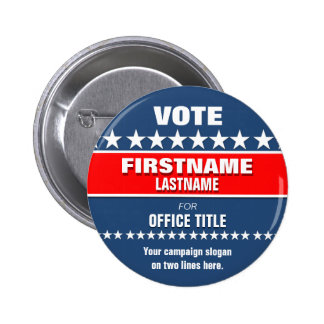 Custom Political Button