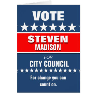 Custom Political Campaign Template