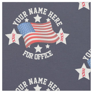 Custom Political Fabric