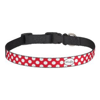 Custom Polka Dot Pick Any Color Pet Collar