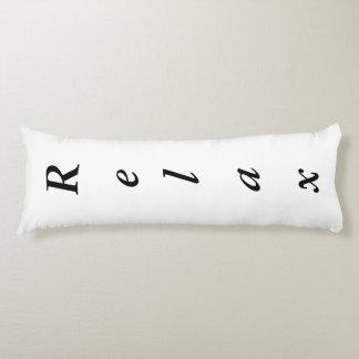 "Custom Polyester Body Pillow Relax ( 20"" x 54"")"