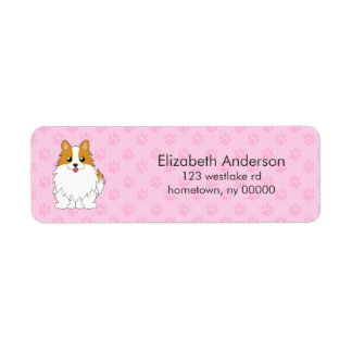 Custom Pomeranian Return Address Label