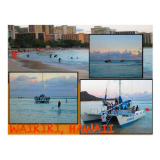 CUSTOM POSTCARDS- HAWAII COLLAGE# 28 POSTCARD