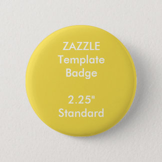"Custom Print 2.25"" Round Badge Blank Template 2 Inch Round Button"