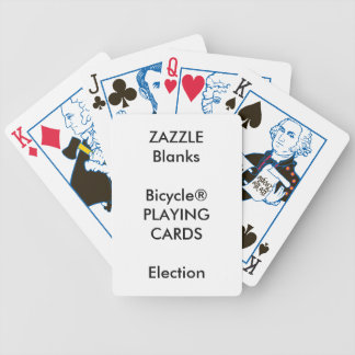 Custom Print Bicycle® ELECTION Playing Cards Blank