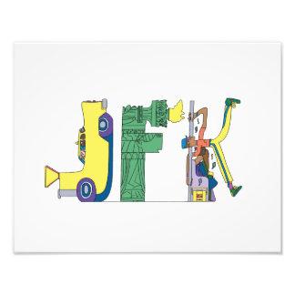 Custom Print | NEW YORK, NY (JFK)