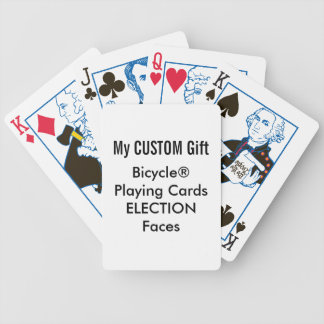 Custom Printed Bicycle® Playing Cards ELECTION