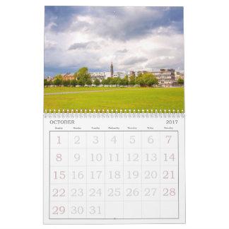 Custom Printed Calendar, beautiful Glasgow 2017 Calendars
