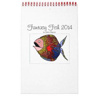 Custom Printed Calendar: Fantasy Fish Calendar