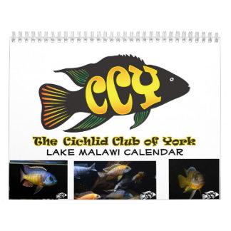 Custom Printed CCY Lake Malawi Cichlid Calendar