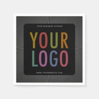 Custom Printed Cocktail Napkins with Company Logo