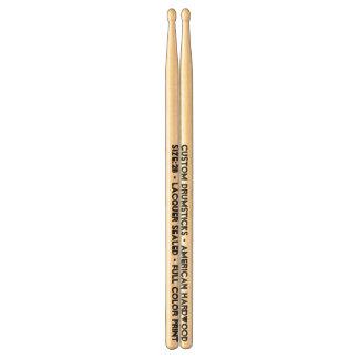 Custom Printed Drumsticks - Size 2B