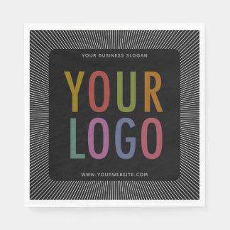 Custom Printed Luncheon Napkins with Company Logo