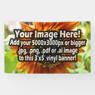 Custom Printed Vinyl Banner Full-Colour Printing