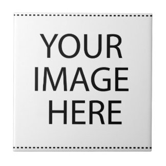 Custom Product Round Your Image Here Tile